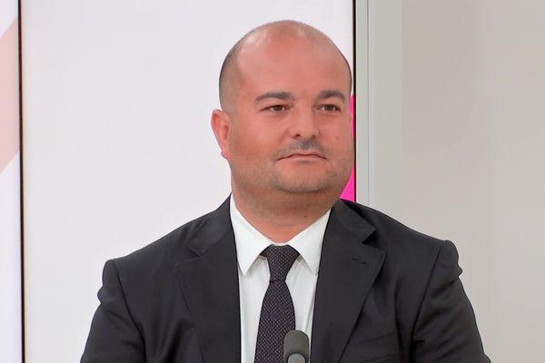 David Rachline est l'invité de Dimanche en Politique en Côte d'Azur
