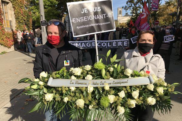 1300 personnes à la marche à La Roche sur Yon - 18/10/2020
