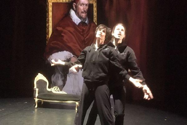 """Danseurs et chorégraphes, Marie-Claude Pietragalla et Julien Derouault présentent leur nouvelle création """"Lorenzaccio"""" à la salle Pleyel."""