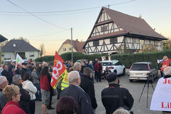 Plusieurs dizaines de manifestants réunis à Zoebersdof contre le racisme