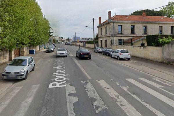 L'accident a eu lieu route de Toulouse à Bègles tôt ce lundi 3 février.