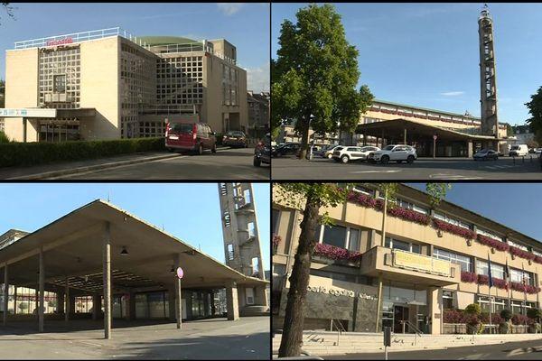 Le beffroi, la halle, le théâtre et la mairie de Saint-Lô font partie des bâtiments récemment classés aux monuments historiques. Ils ont été construits après guerre.