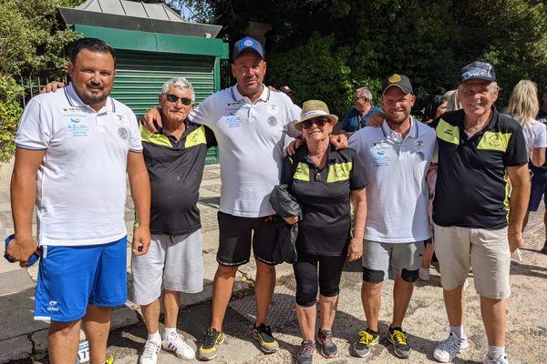 La triplette Puccinelli rencontre la triplette Burggraeve au troisième tour du Mondial.