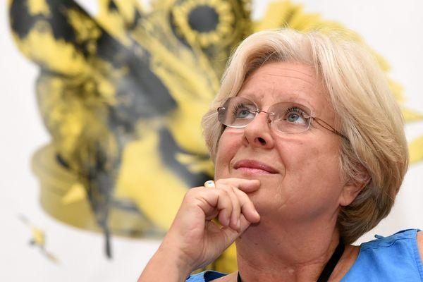Françoise Rossinot à Nancy, le 29 août 2017.