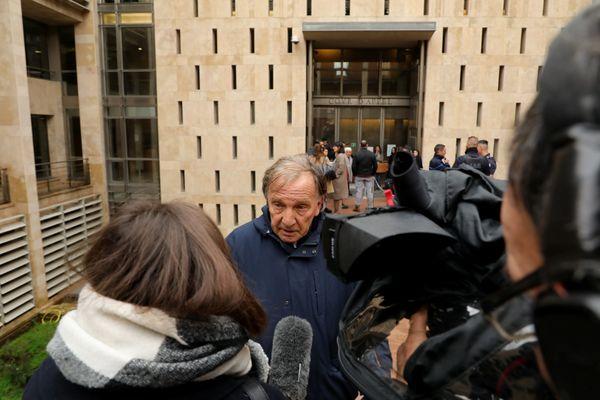 Me Jean-Jacques Campana avocat de Wojciech Janowski, condamné à la perpétuité pour avoir commandité l'assassinat de sa belle-mère, la milliardaire monégasque Hélène Pastor.