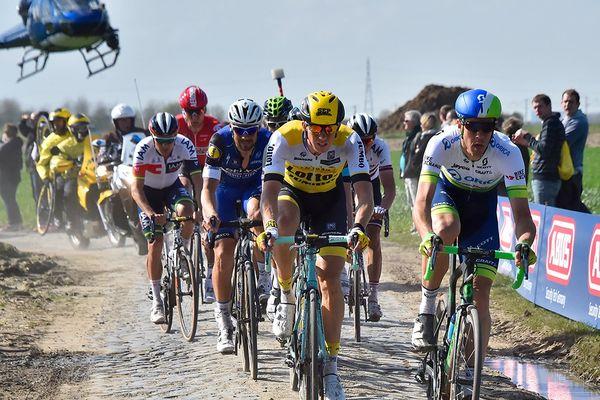Illustration du Paris-Roubaix.