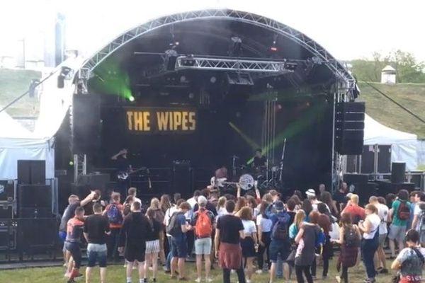 The Wipes, le groupe originaire de la région, a lancé les concerts du vendredi 31 mai 2019.