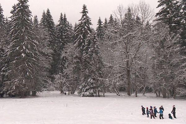Les stations de ski de moyenne montagne comme celle de la vallée d'Abondance pourraient moins souffrir de la crise sanitaire que les grandes stations.