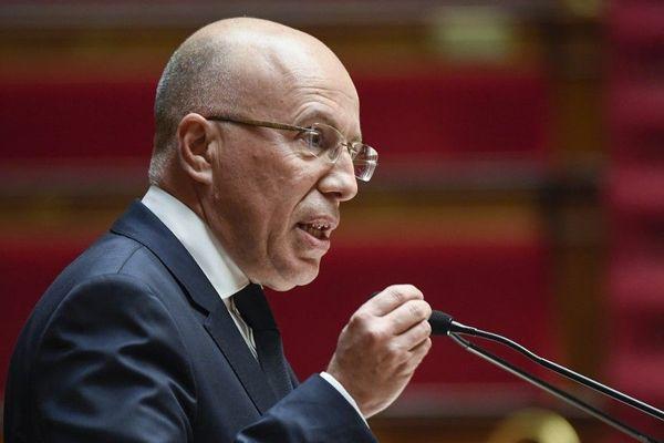 Le député Les Républicains Éric Ciotti à l'Assemblée nationale le 5 février 2019.