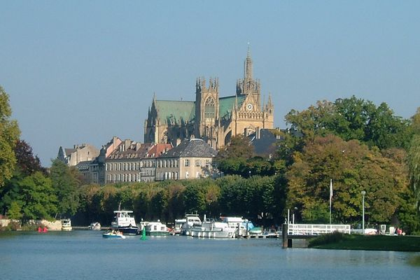 Metz, île du Saulcy