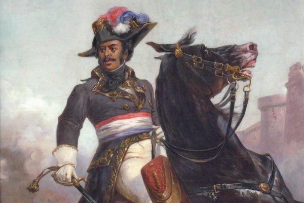 Le général Alexandre Dumas (1762-1806), peinture d'Olivier Pichat — Musée Alexandre Dumas, Villers-Cotterêts