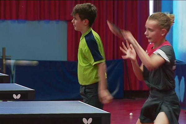 Le pôle espoir de tennis de table est installé à Lons-Le-Saunier