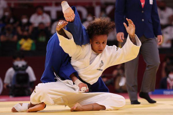 Amandine Buchar a remporté l'argent olympique en judo dans la catégorie des - de 52 kilos