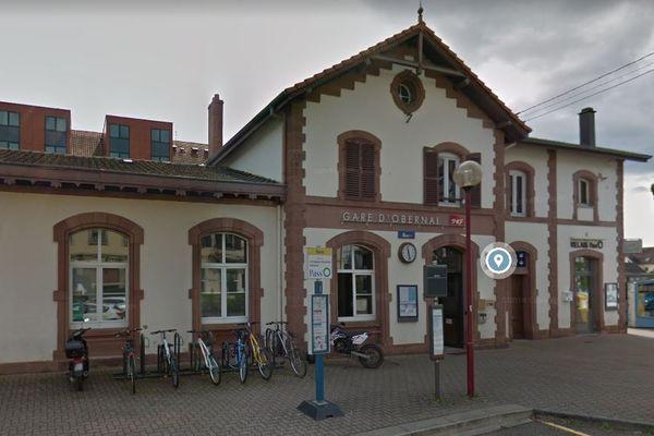 La gare d'Obernai va faire l'objet cet été d'un chantier d'envergure.