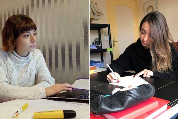 Manon et Lorie sont étudiantes à Clermont-Ferrand. L'année de leurs 18 ans a une saveur particulière en raison de l'épidémie de COVID 19.