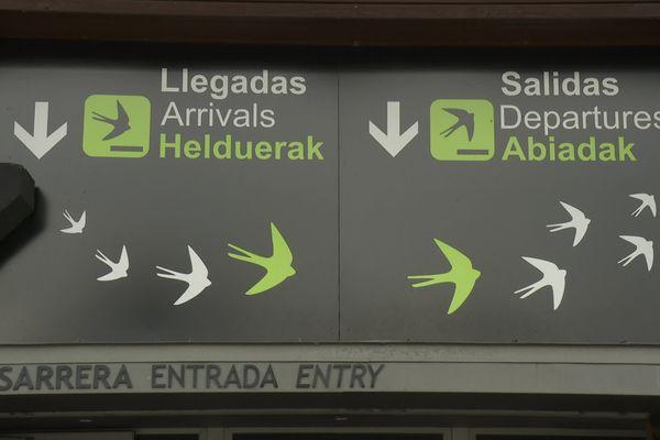 L'aéroport Bird center-eko aireportua !