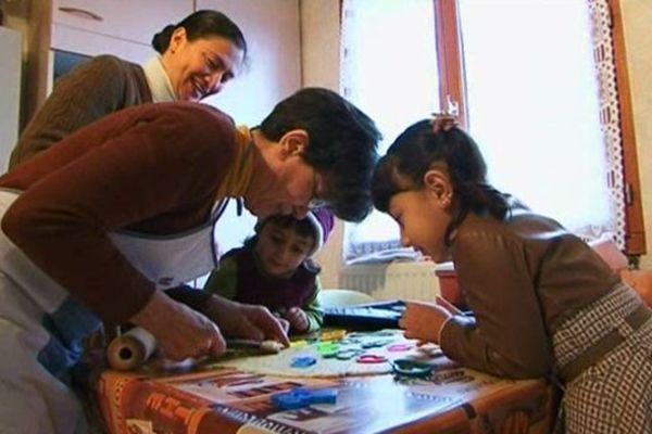 Sofia, Marina et leur mère sont accueillies depuis 2 mois dans une famille lourdaise.