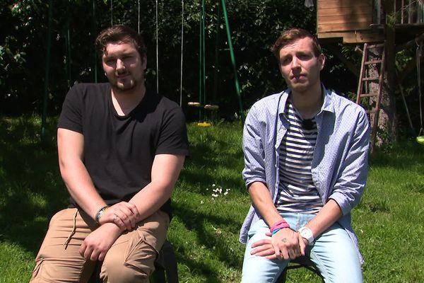 Nicolas et Samuel vont quitter Ternay dans l'Ain pour rejoindre l'Isère