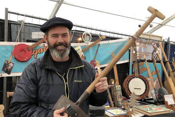 Laurent Girardclos : artisan luthier