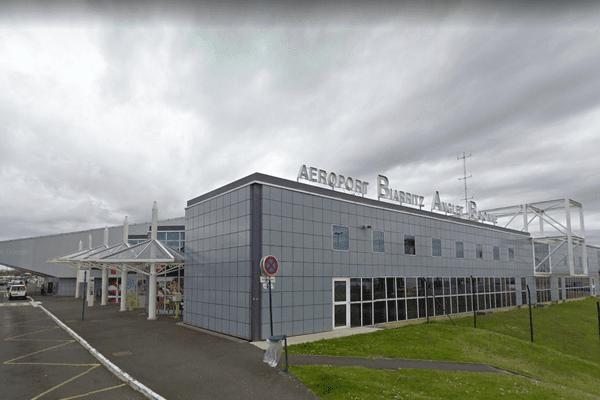 L'aéroport de Biarritz.