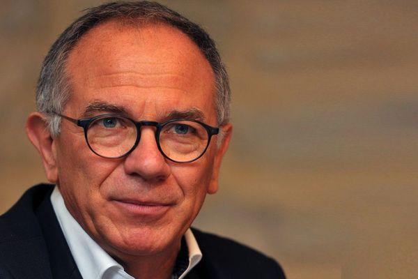 """L'Audois Eric Andrieu (PS), candidat élections européennes sur la liste  """"Envie d'Europe écologique et sociale"""" conduite par Raphaël Glucksmann."""