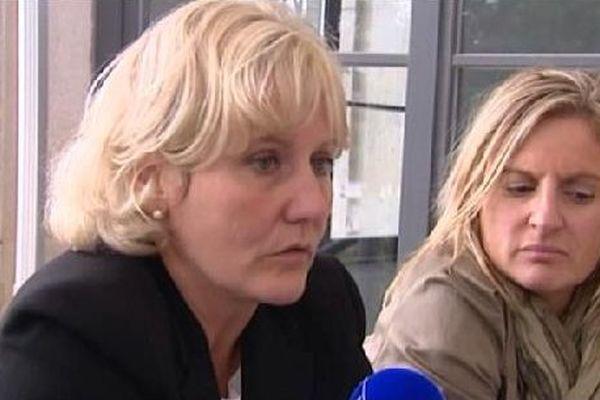 Nadine Morano, députée européenne (Les Républicains) et Valérie Debord (archive).