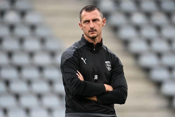 Jérôme Arpinon, le nouvel entraîneur du Nîmes Olympique.