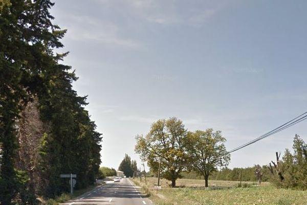 L'accident s'est produit sur la D900 à Cavaillon