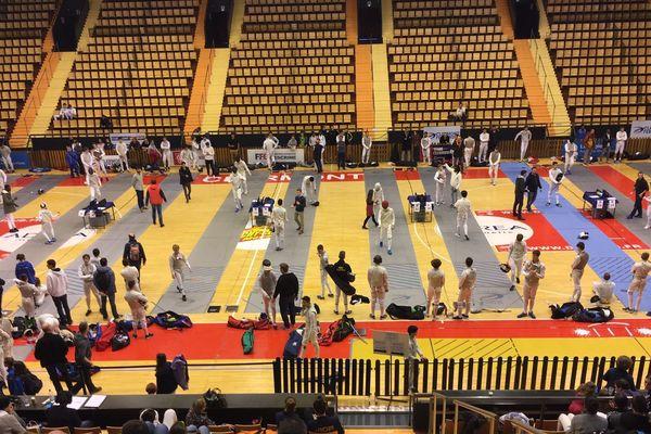 La Maison des sports de Clermont-Ferrand accueille tout le week-end une épreuve du circuit élite