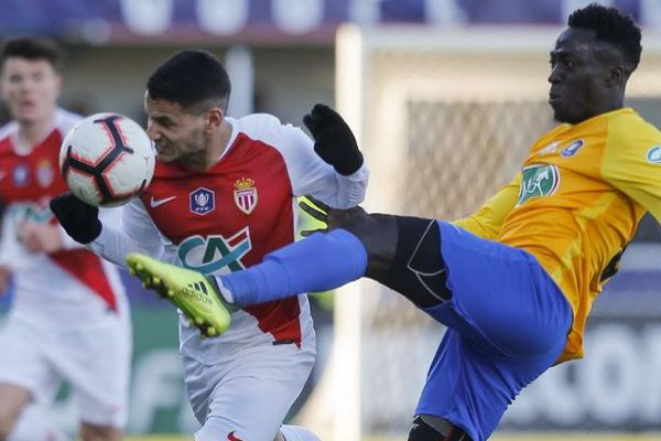 Ce dimanche, au stade Gilbert Brutus à Perpignan, pour le match Canet-en-Roussillon-AS Monaco.