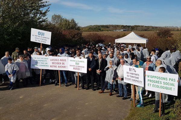 D'après la mairie, la ZAC du Triangle de Gonesse pourrait représenter 50 000 emplois.