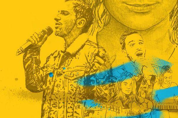 Affiche de la 35ème fête de la musique
