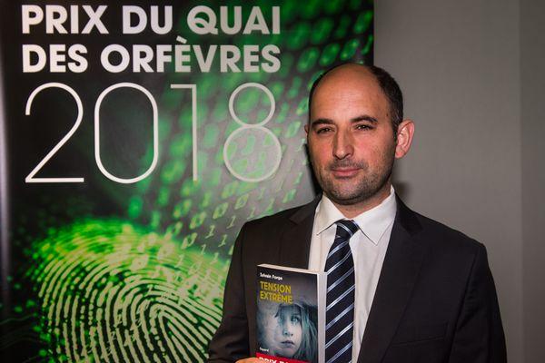 Sylvain Forge, prix du Quai des Orfèvres 2018