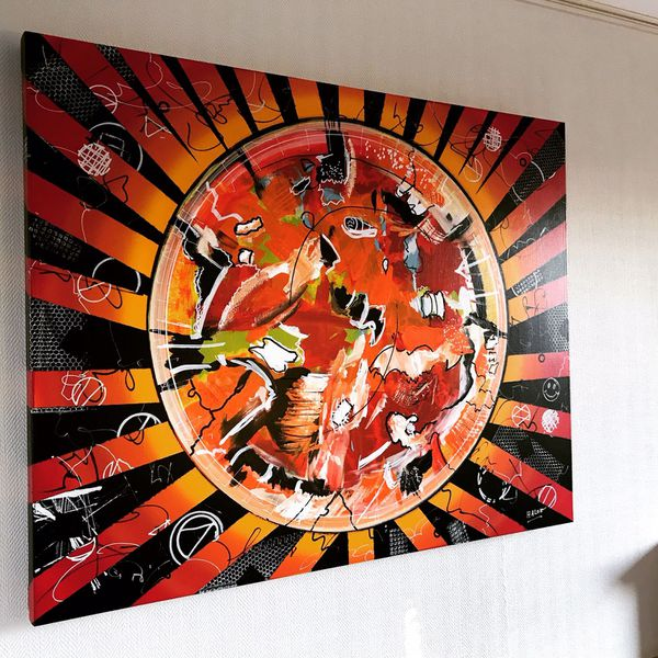 Une des oeuvres peintes par Jacques Halon, que la 3D pourrait lui permettre de découvrir