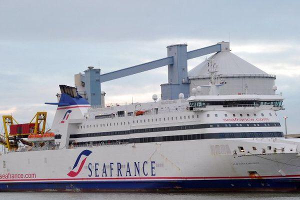Un navire de la compagnie SeaFrance, liquidée en 2012.
