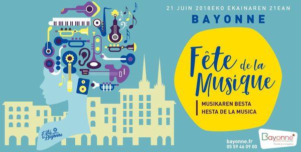 Fête de la Musique 2018 à Bayonne