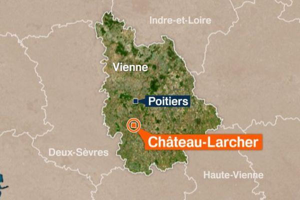 Chateau-Larcher, Vienne