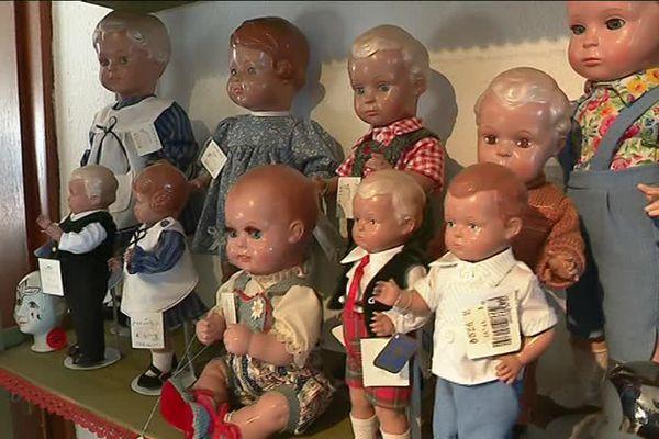 A Spicheren, en Moselle, les poupées retrouvent une nouvelle vie.