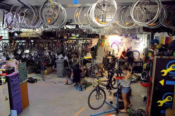 Les ateliers vélo : ils pourraient être générateurs de plusieurs centaines d'emplois