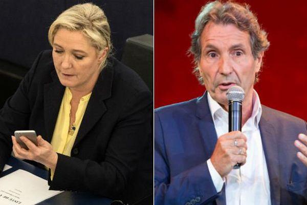 Polémique entre la candidate battue aux régionales et le journaliste de BFM et RMC.