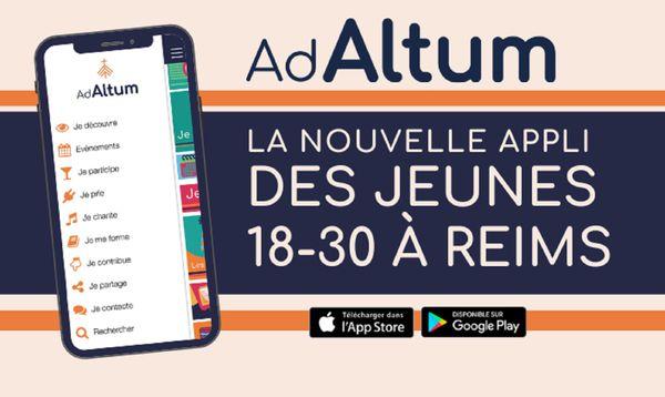 """""""  Nous avons adapté « Verso l'alto » en « Ad Altum ». Ce nom renvoie à la notion de croissance vers un but supérieur"""" explique le père Paul-Emmanuel Lallement, aumônier des étudiants et jeunes professionnels du diocèse Reims-Ardennes."""