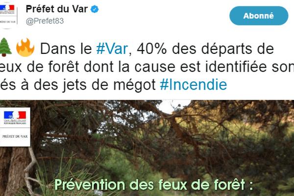 Le préfet du Var alerte sur les mauvaises pratiques