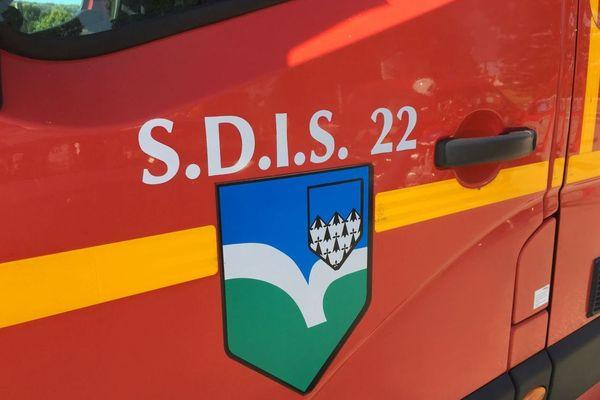 Illustration pompiers Côtes d'Armor