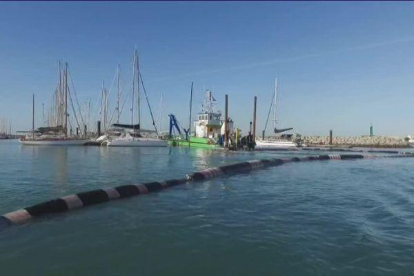 Mesures de sédimentation dans le port de La Rochelle