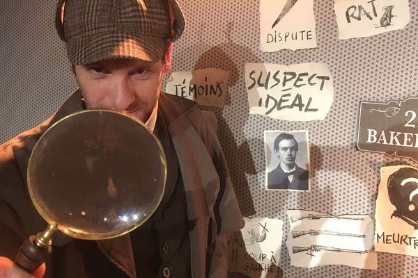 « Sherlock Holmes, le mystère de la vallée de Boscombe » à voir au Grand Point-Virgule.