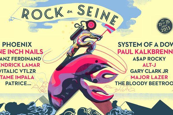 Rock en Seine 2013 s'installe au Parc de Saint-Cloud (92) pour trois jours