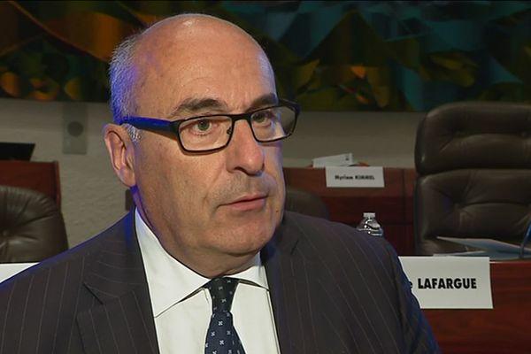 Jean-Léonce Dupont, président du Conseil Départemental du Calvados