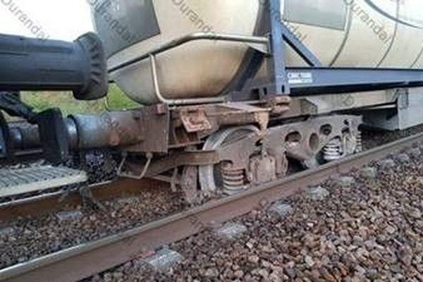 La sortie de rail a eu lieu ce matin, à 5h30.