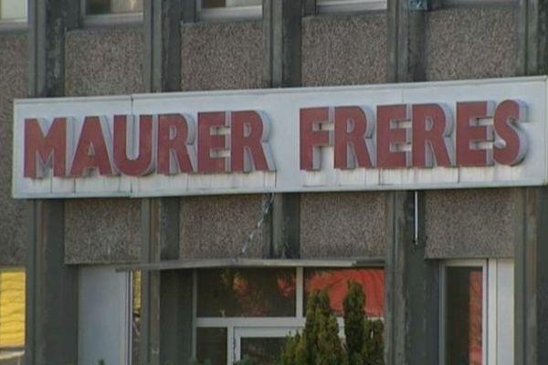 Le site de Maurer Frères à Kingersheim