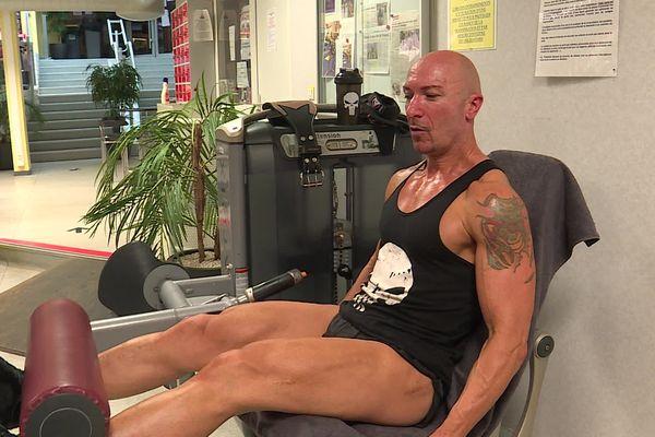 Pascal Mazure, alias Lito, triple champion de France de bodybuilding naturel